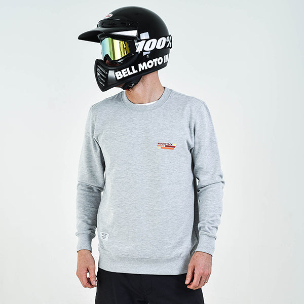 Grey WMC Stripe Sweatshirt