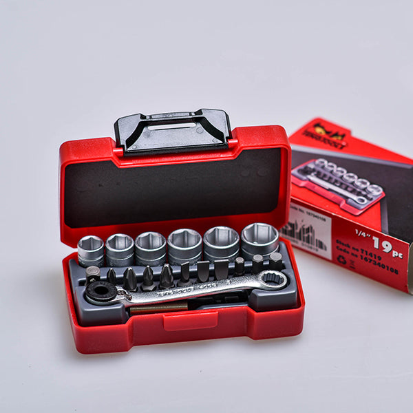 Teng Tools 19 piece mini kit 1/4""