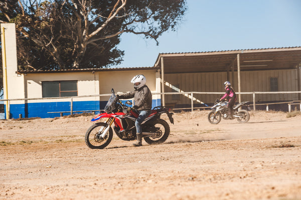 15th February: At The Beginning - Beginner Training day for Adventure Bike Riding.