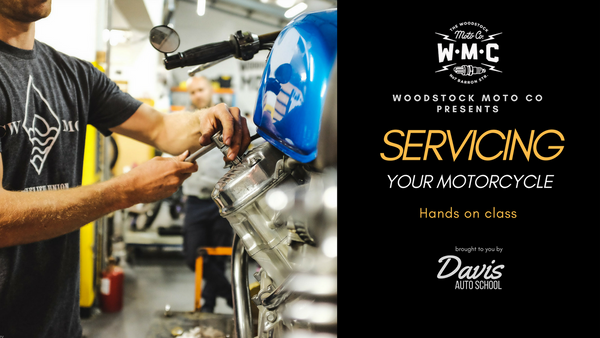 Class - Servicing your Motorcycle (1st October 2019)