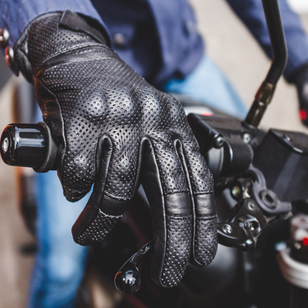 WMC Leather Gloves - Black