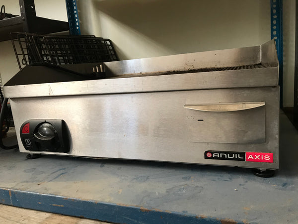 Anvil Electric Flatop grill 60cm wide