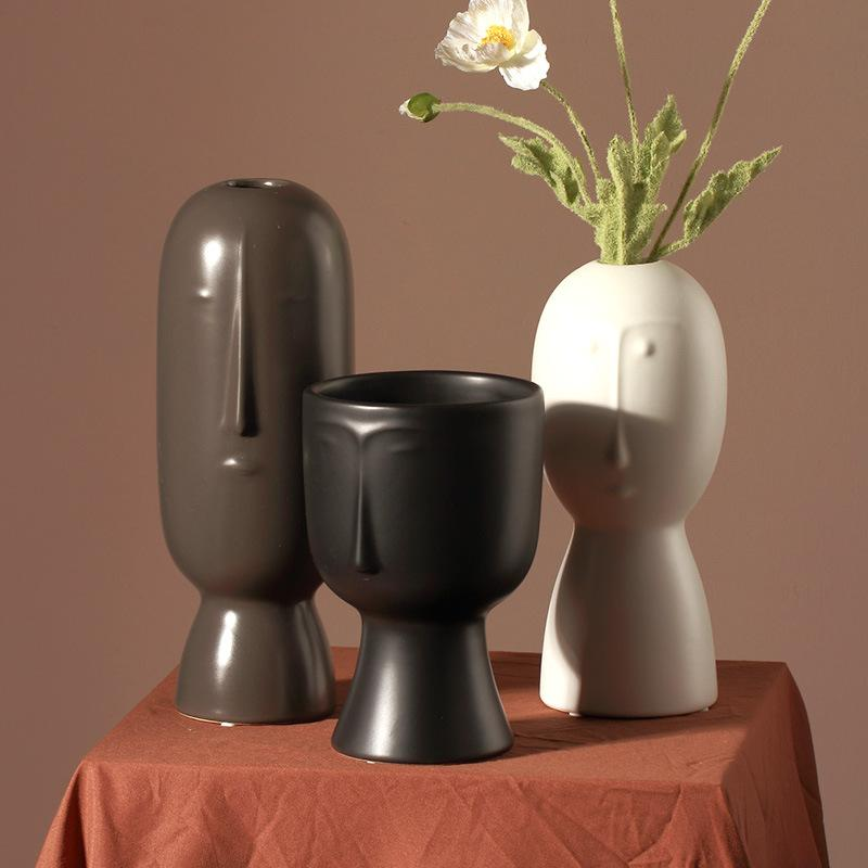 People Vase - Grey - 30cm