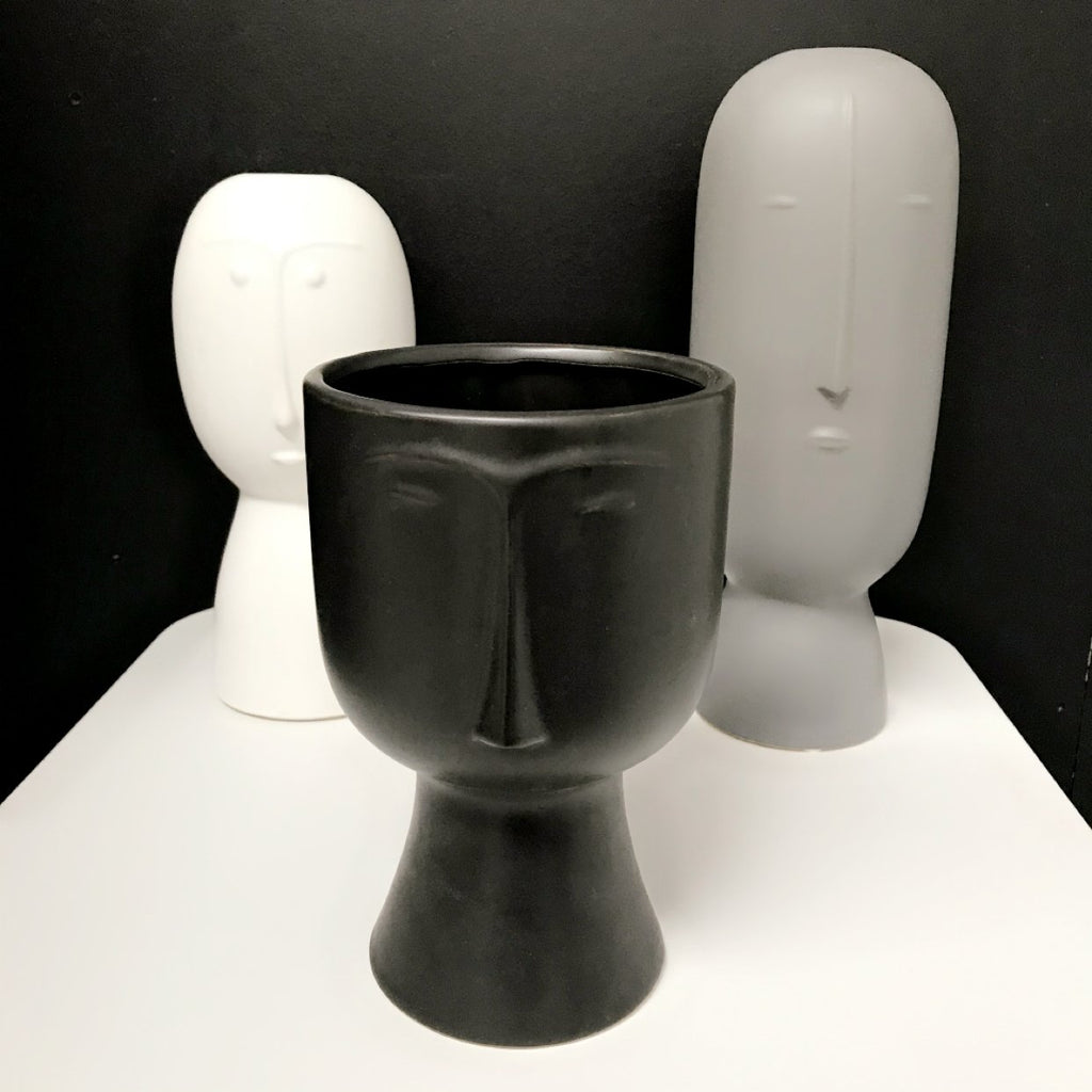 People Vase - Black - 20cm