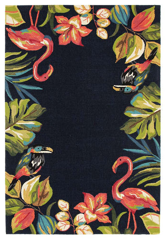 Deluxe Outdoor Rug - Retro Teal