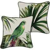 Indoor Cushion - Green Plume 45x45cm - Razzino Furniture