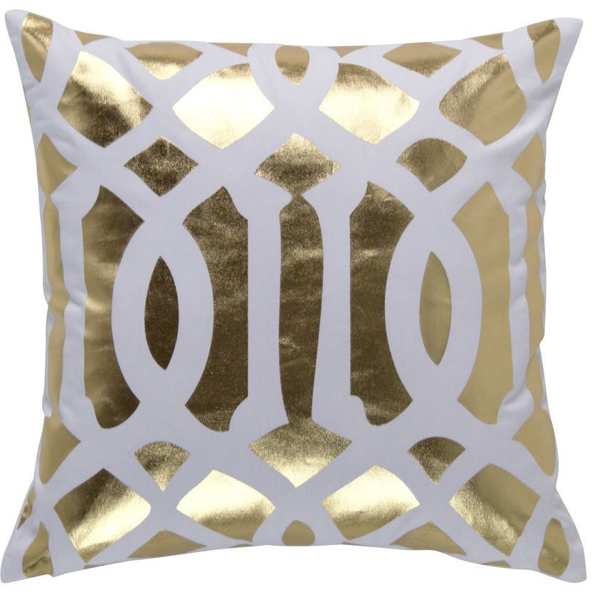 Indoor Cushion - GOLD 'Trellis' - Razzino Furniture
