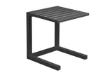 C Side Table - Gunmetal - Razzino Furniture