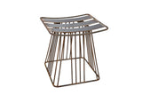 Steel Wire Industrial Stool - Razzino Furniture