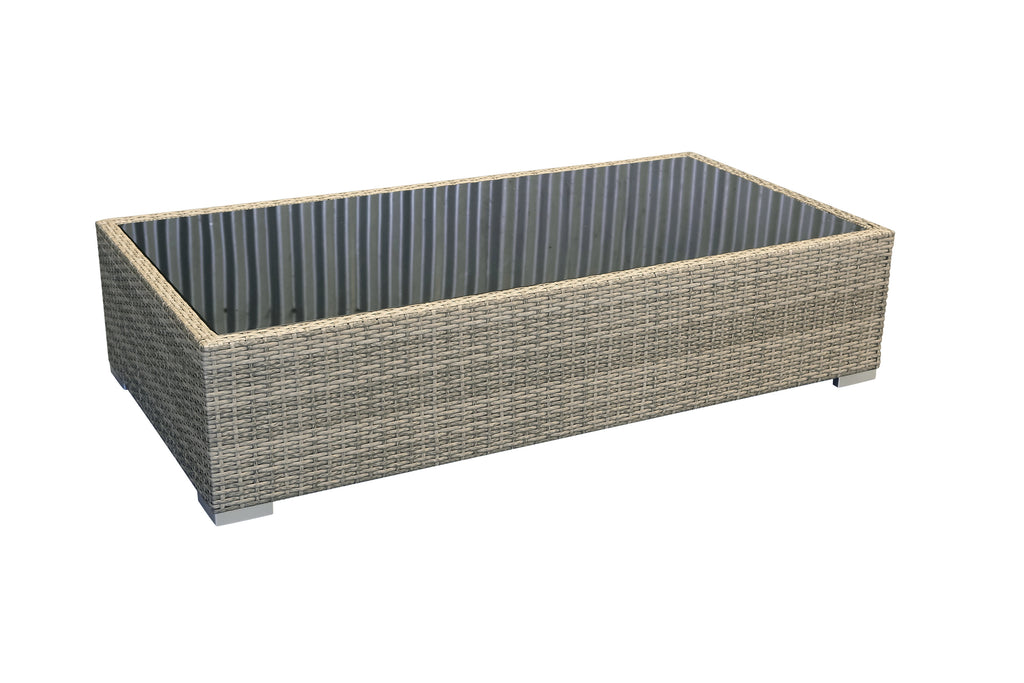 CAPRI Rectangle Rattan Outdoor Coffee Table - Razzino Furniture