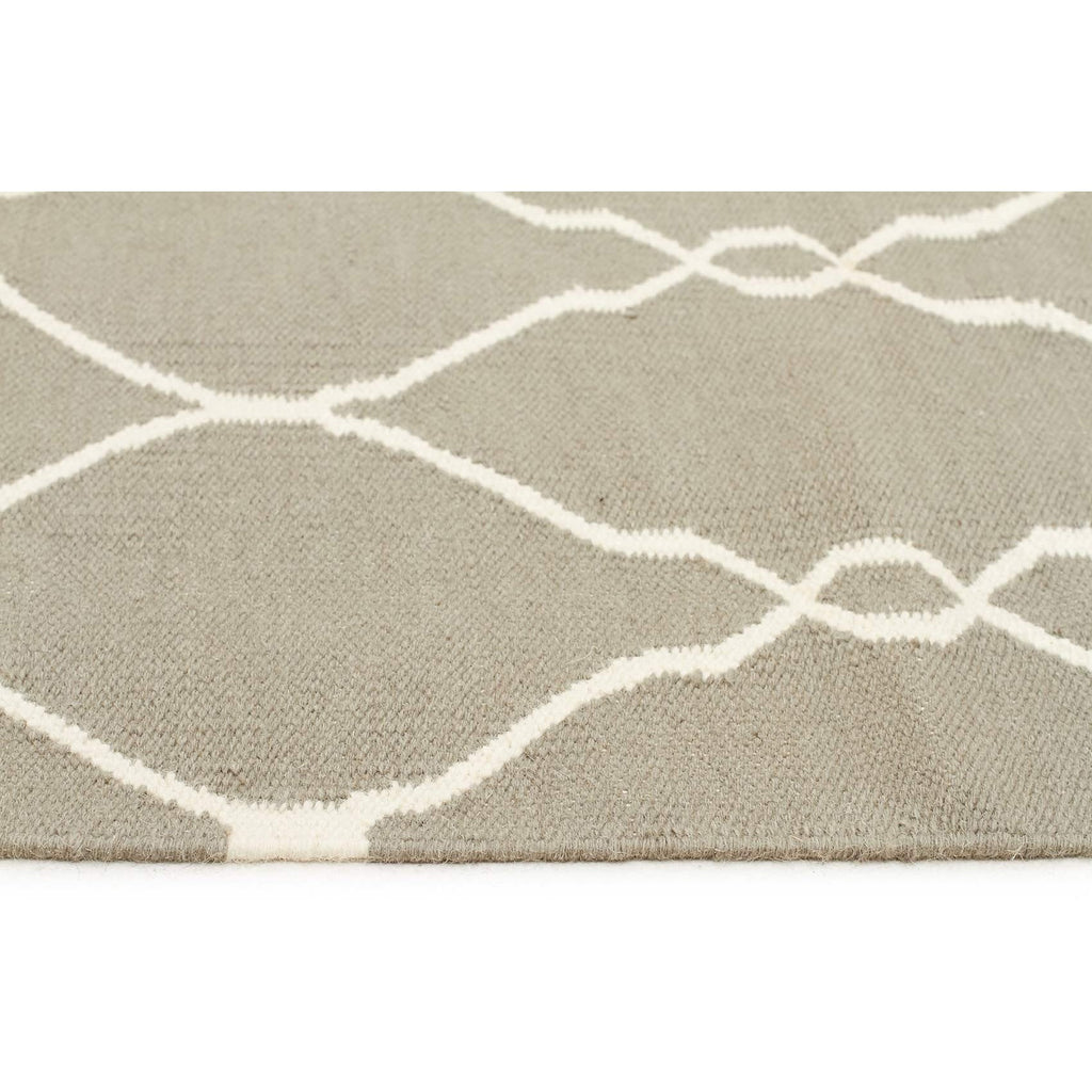 Nomad Grey Ropes Wool Rug Runner - Razzino Furniture