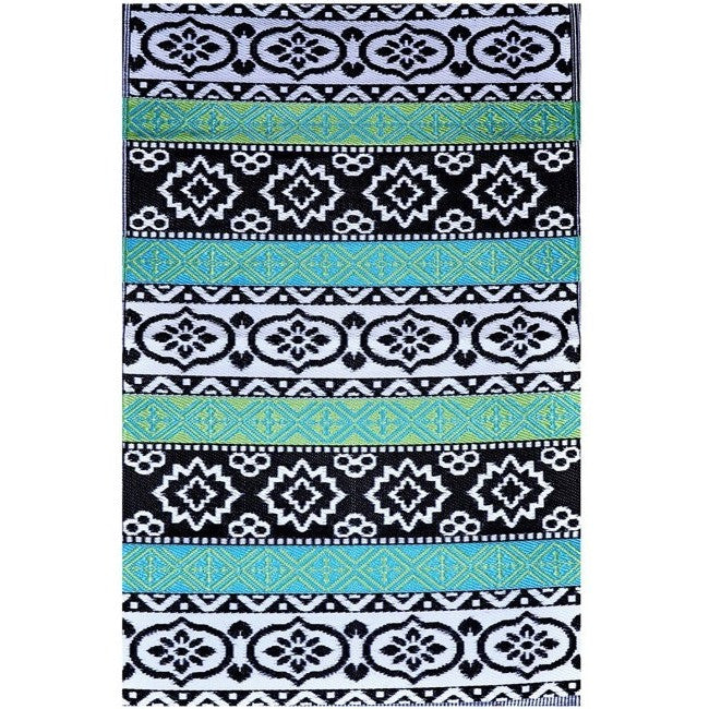 Eco Outdoor Rug - Tribal Pattern - Razzino Furniture