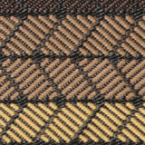 Eco Outdoor Rug - Chestnut Waves - Razzino Furniture