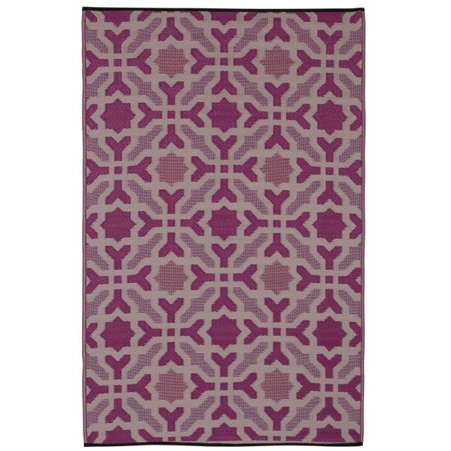 Eco Outdoor Rug - Marrakesh Pink - Razzino Furniture