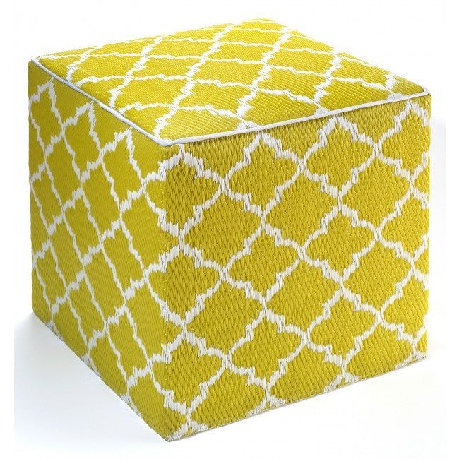 Outdoor Ottoman - Celery Clover - Razzino Furniture