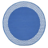 Eco Circle Outdoor Rug - Olympia Blue - Razzino Furniture