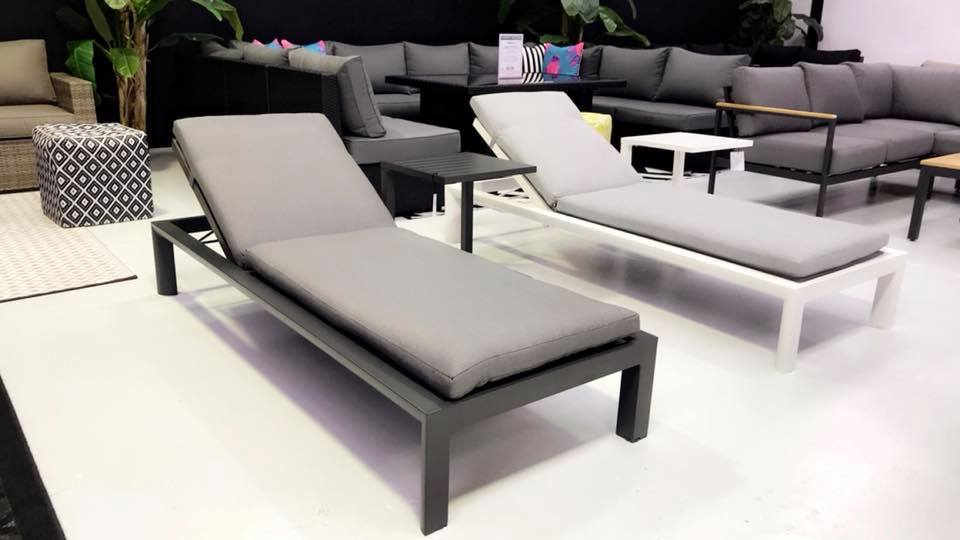 Dune Pool Sun Lounge - Gunmetal - Razzino Furniture