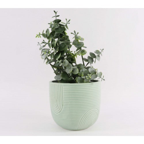 Rainbow Planter Pot Mint Sm 12cm - Razzino Furniture