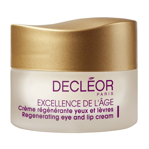 Decleor Excellence De L'Age Regenerating Eye and Lip Cream - 0.5 oz - ibeautysource
