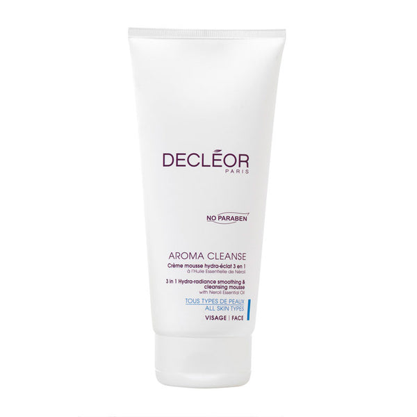 Decleor Aroma Cleanse 3-in-1 Hydra-Radiance Smoothing & Cleansing Mousse - 3.3 oz - ibeautysource