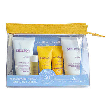 Decleor Travel Essentials Face & Body Hydrating Starter Kit - ibeautysource