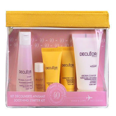 Decleor Travel Essentials Face & Body Soothing Starter Kit - ibeautysource