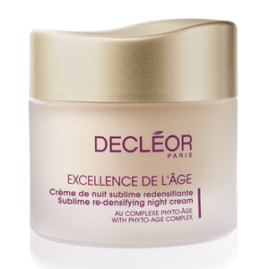Decleor Excellence De L'Age Sublime Re-Densifying Night Cream - 1.7 oz - ibeautysource