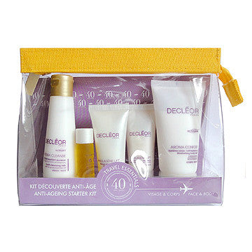 Decleor Travel Essentials Face & Body Anti-Ageing Starter Kit - ibeautysource
