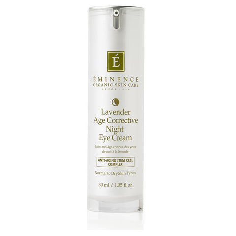 Eminence Lavender Age Corrective Night Eye Cream - 1.05 oz - ibeautysource