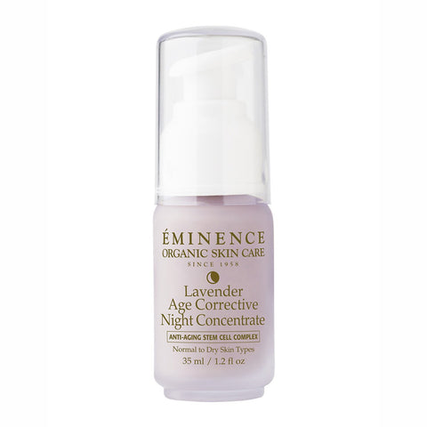 Eminence Lavender Age Corrective Night Concentrate - 1.2 oz - ibeautysource