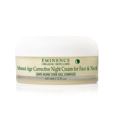 Eminence Monoi Age Corrective Night Cream for Face & Neck - 2 oz - ibeautysource
