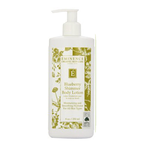 Eminence Blueberry Shimmer Body Lotion - 8 oz - ibeautysource