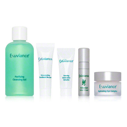 Exuviance Essentials Oily/Acne Prone Kit - ibeautysource