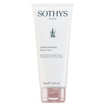 Sothys Cherry Blossom and Lotus Escape Shower Cream