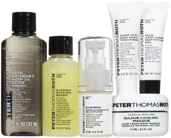 Peter Thomas Roth Acne Kit - 6 pcs