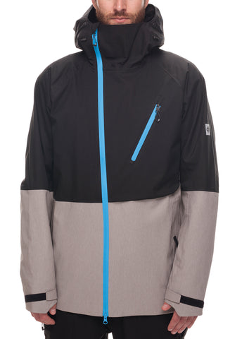 GLCR Hydra Thermagraph Jacket - Black Twill Color Block