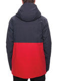 GLCR Ether Down Thermagraph Jacket - Navy Ripstop Color Block