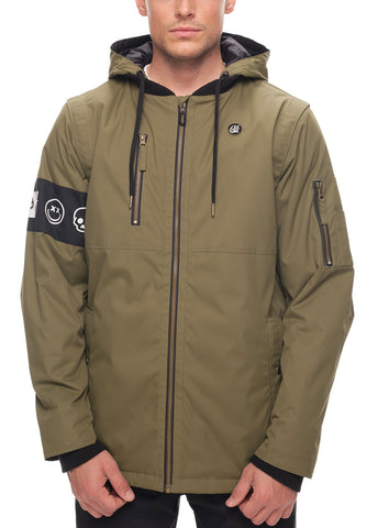 Riot Insulated Jacket - Fatigue Oxford