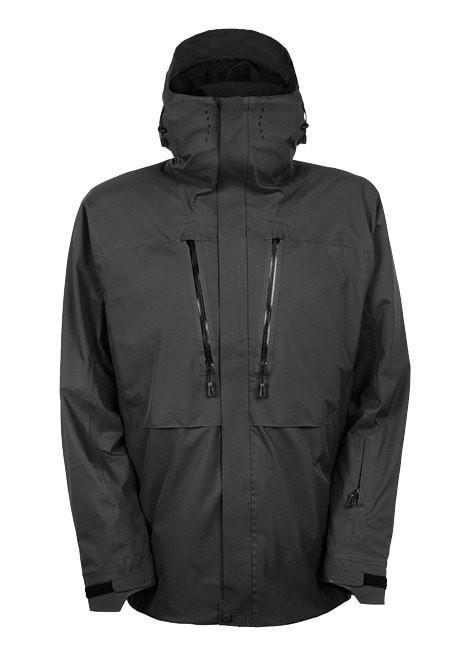 GLCR Ether Down Thermagraph Jacket - Black Twill Color Block