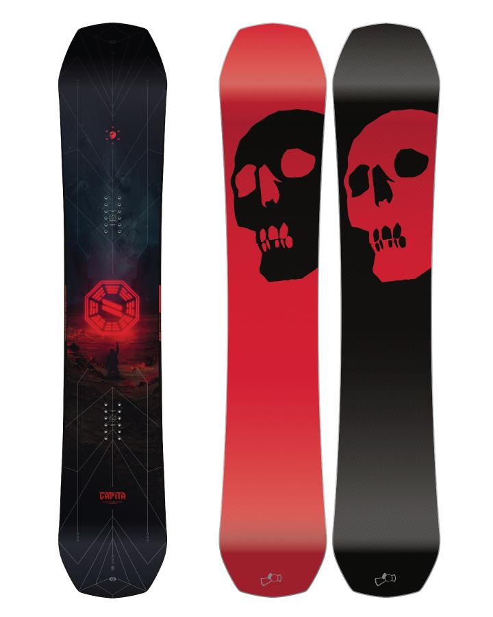 2019 - THE BLACK SNOWBOARD OF DEATH