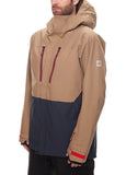 GLCR Ether Down Thermagraph Jacket - Khaki Ripstop Color Block