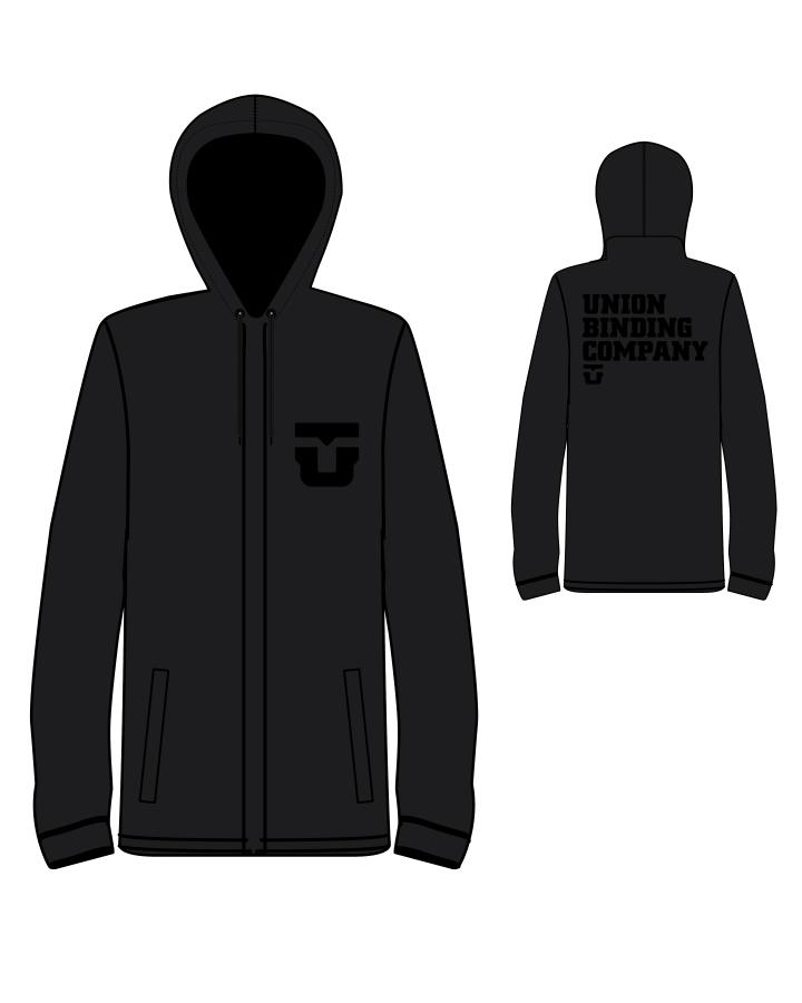 UNION TEAM JACKET BLACK