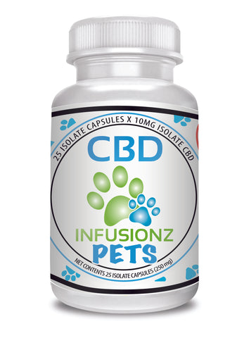 PET CBD Isolate Capsules