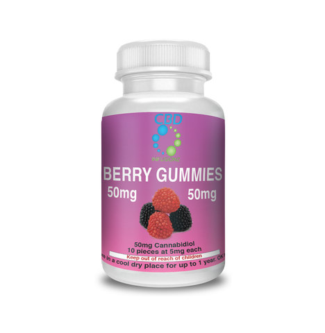 Berry Gummies CBD Edibles  50mg CBD