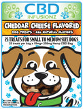 10mg Hemp ALL NATURAL CBD Dog Treats Cheddar Cheese Small to Medium Size Breeds