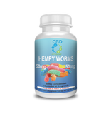Hempy Worms Gummy CBD Edibles 50mg CBD