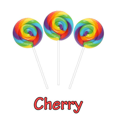 Hypnotic Swirl Pop Cherry 50mg CBD Isolate (3 Pack)
