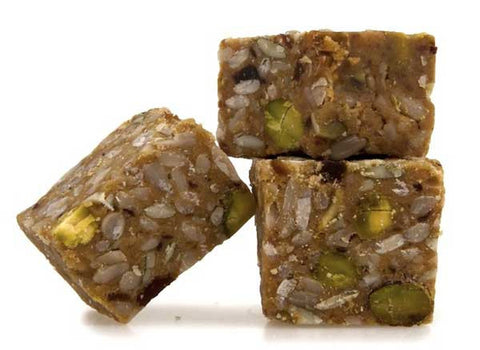 Honey Pistachio Health Bites CBD Edibles - 50mg/100mg/200mg CBD