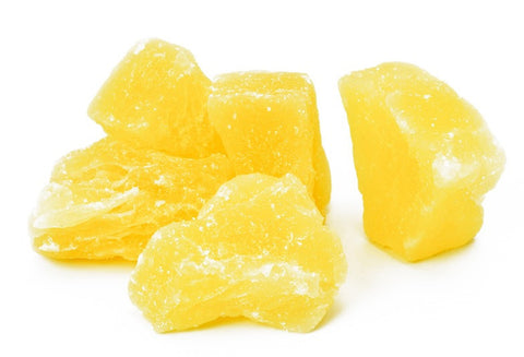 Sweet Dried Pineapple Bites CBD Edibles - 50mg/100mg/200mg CBD