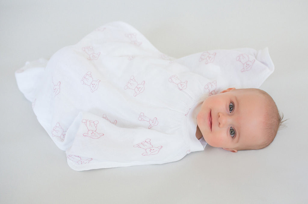 inbetweenie™ Original Muslin Sleep Sack - Pink